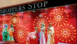 Shoppers Stop's Diwali window captures the ethos of the dazzling fiesta