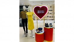 The Collective's new window spread love ahead of Valentine's Day