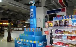 Chew on it: Oral B's retail splash