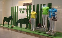 The Collective's Spring Fling window