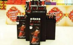 Coca-Cola Zero marks a captivating presence in stores
