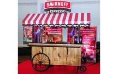 Smirnoff takes its'Espresso' flavour on wheels