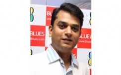 Blue & Blues -  Spreading Italian hues in Desi tones