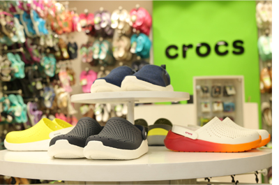 brand new b7481 c5fb9 Crocs opens its 74th retail outlet at CP, Delhi