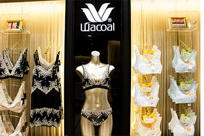 special sales cheap for sale comfortable feel Wacoal targets 30-40 stores by 2019