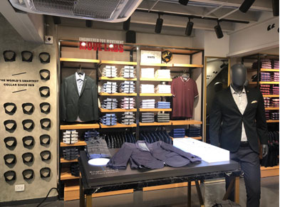 fc6820fe9e Van Heusen launches its new retail design ID in Bangalore