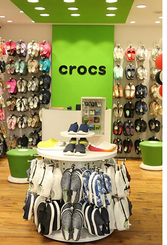 timeless design e3314 c7166 Crocs opens 100th India store at VR Mall, Chennai