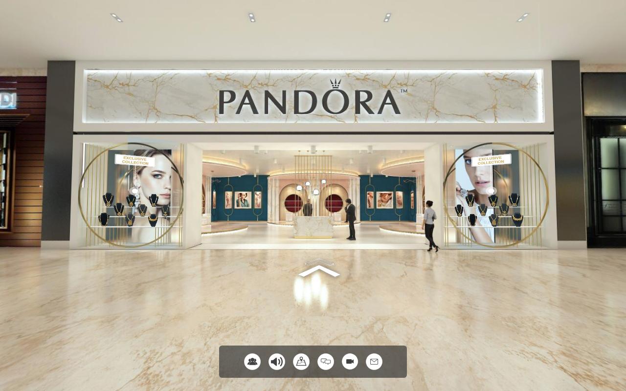 Showroom trang sức Pandora